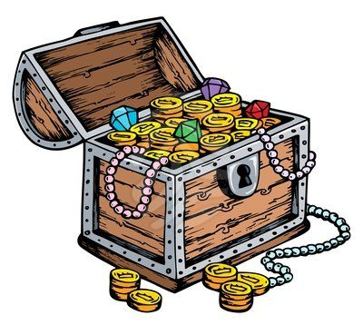 Treasure chest clipart free clipart images 2.