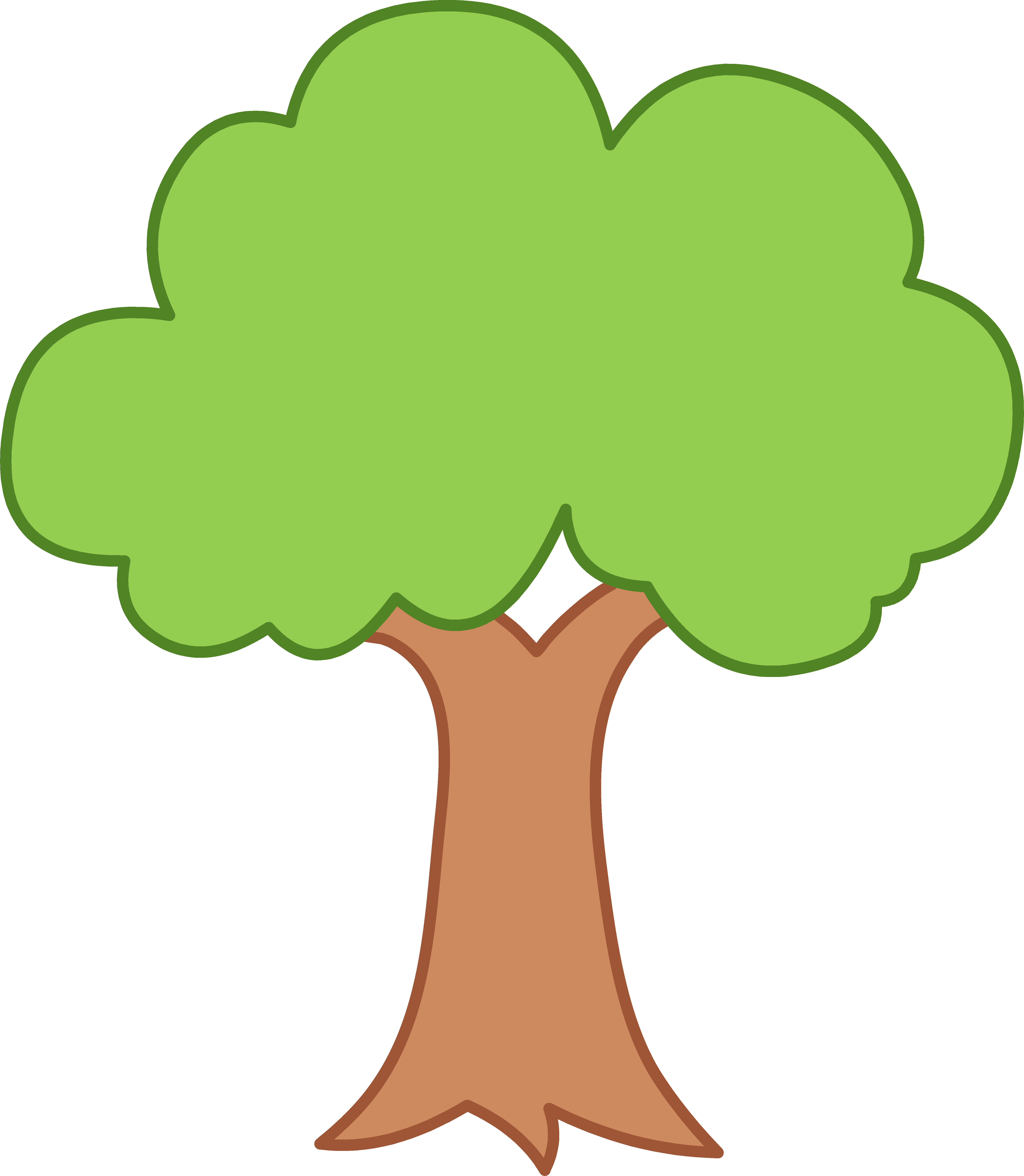 35 green tree clipart..