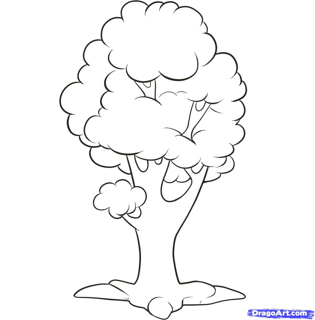Free Simple Tree Drawings, Download Free Clip Art, Free Clip.