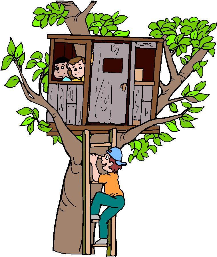 tree house clip art free.