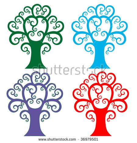 Unique Tree Stock Photos, Royalty.