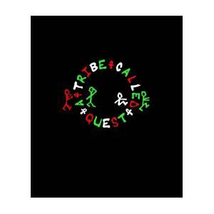 A Tribe Called Quest Logo Atcq Rap Hip Hop.