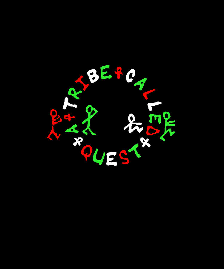 A Tribe Called Quest Logo Atcq Rap Hip Hop Dj.
