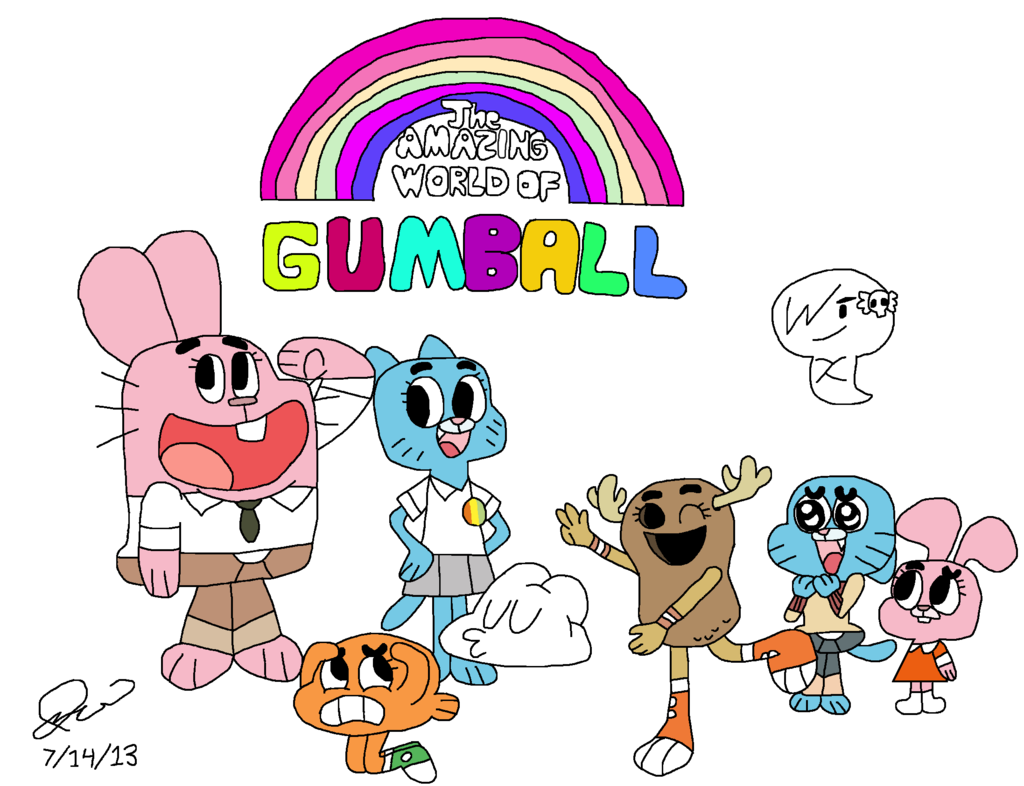 Amazingworldofgumball Clipart.