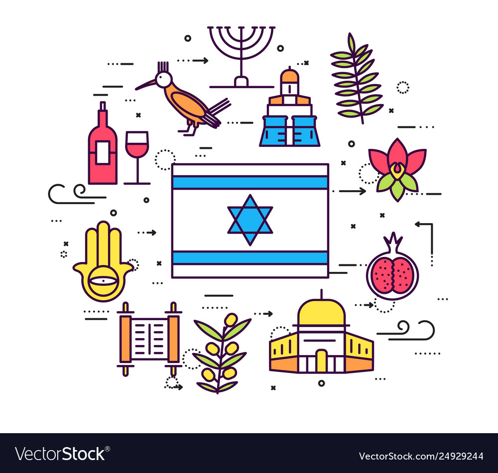 Country israel travel vacation guide goods.