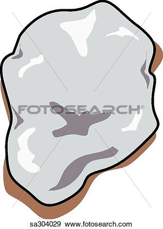Stock Illustration of Type of kidney stone. sa304029.