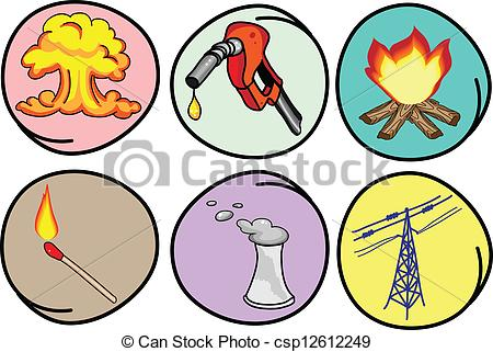 Types Of Energy Clipart.