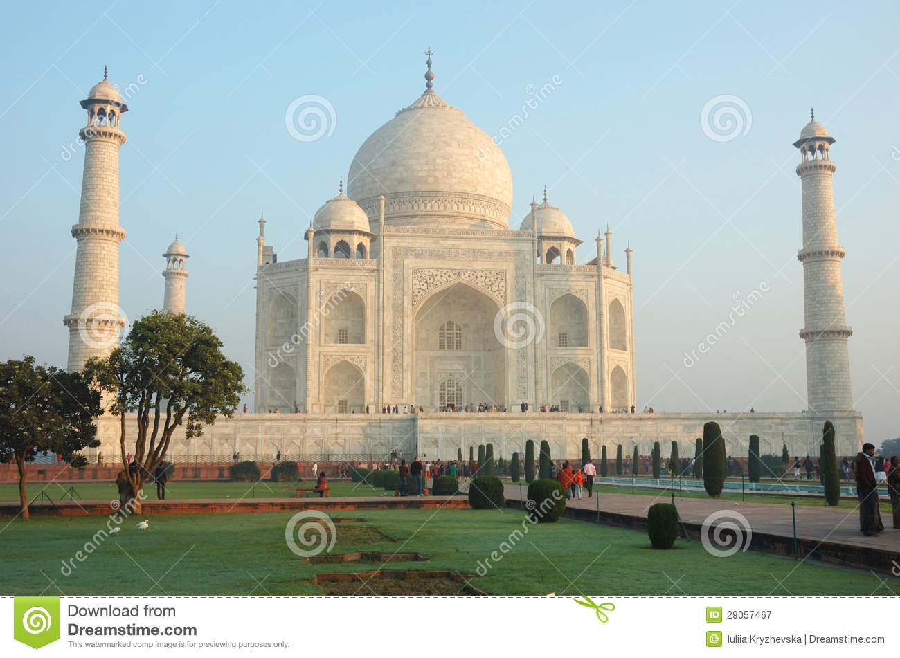 UNESCO World Heritage Site Agra Fort Editorial Image.