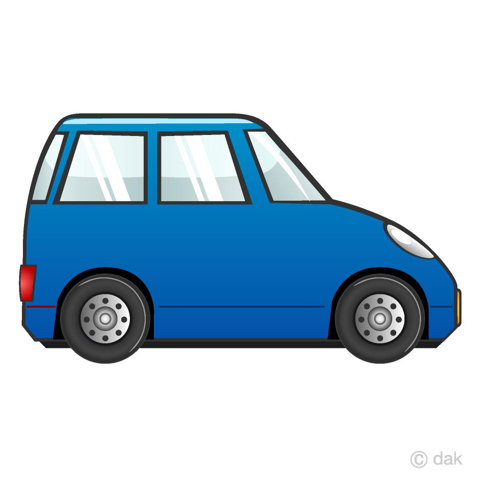 Free Compact Car Clipart Image|Illustoon.