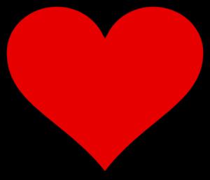 Valentine Heart Clip Art at Clker.com.
