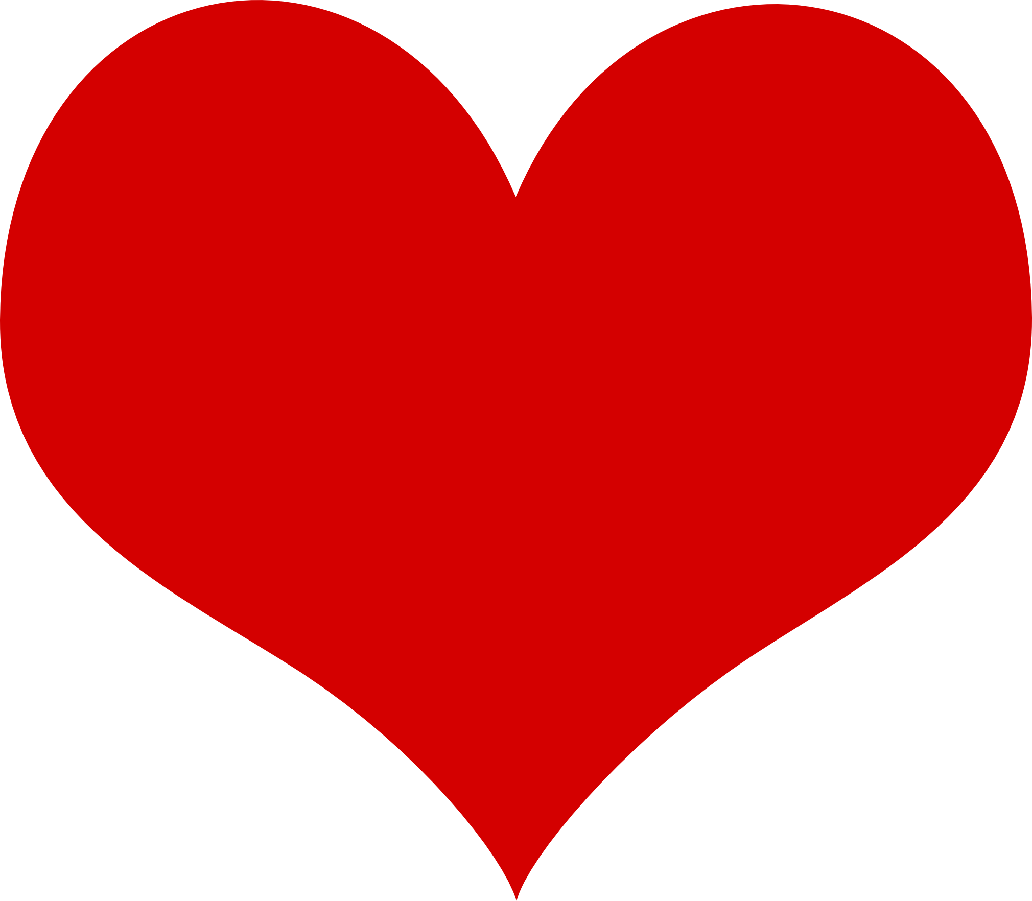 Valentines Heart Clipart.