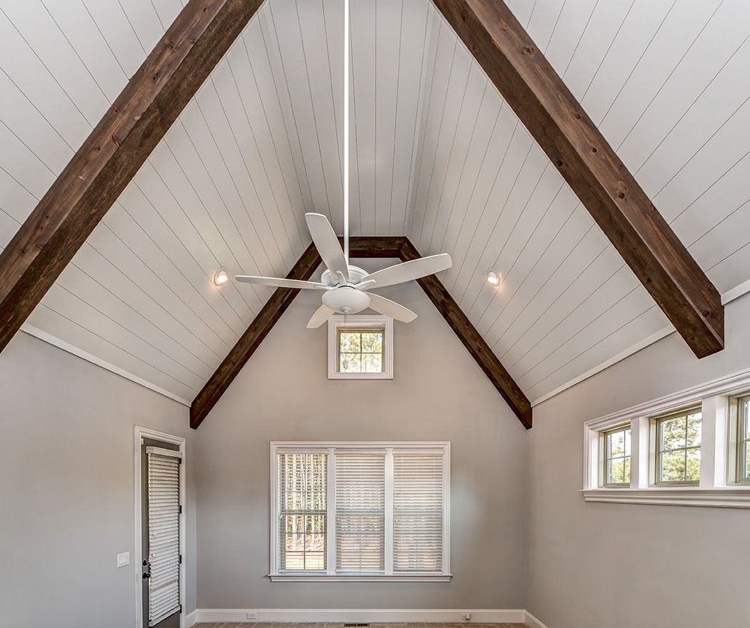 Master Bedroom, Master Ceiling, Vaulted Ceiling, Shiplap.