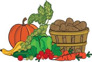 Garden Vegetable Clipart.