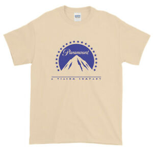 Details about Paramount Studios A Viacom Company Mountain Logo Graphic Tee  T.