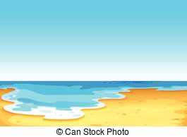 Vector Clip Art of A beautiful view under the sea.