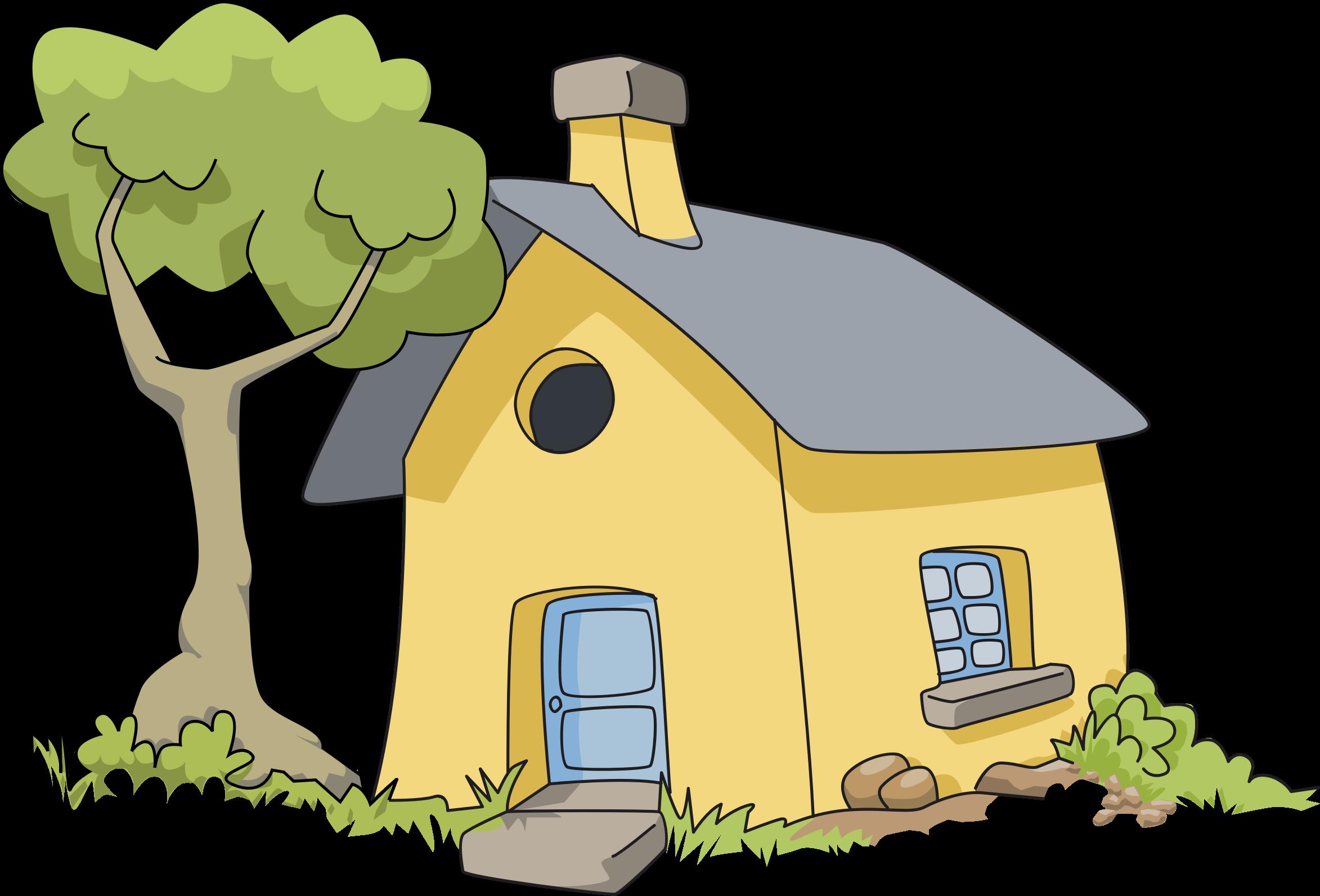 Village House Clipart Png.