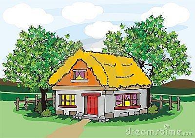 Village House Clipart.