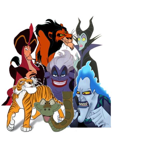 Disney Villains.