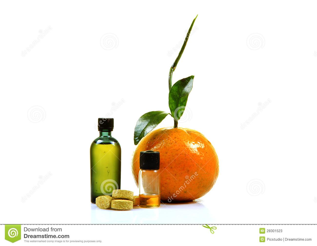 Vitamin C Clipart.