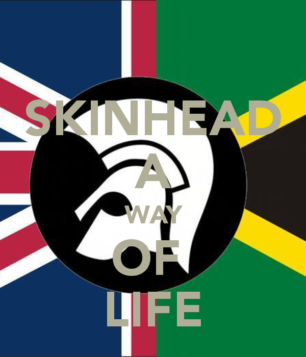 SKINHEAD A WAY OF LIFE Poster.
