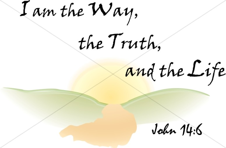 I am the way the truth and the life clipart.