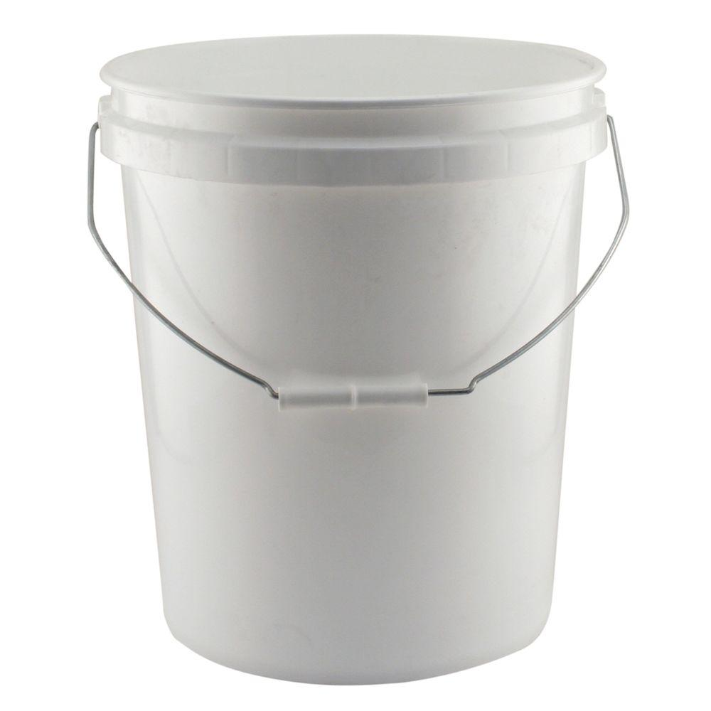 Leaktite 5 Gal. White Project Bucket (Pack of 3).