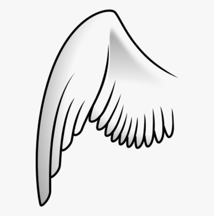 Transparent Angel Wings Clipart.