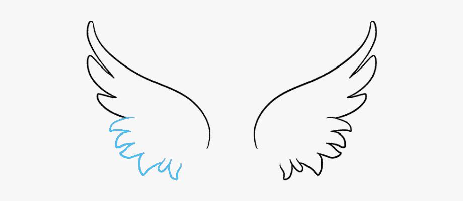 Drawn Wings Angel Wing.