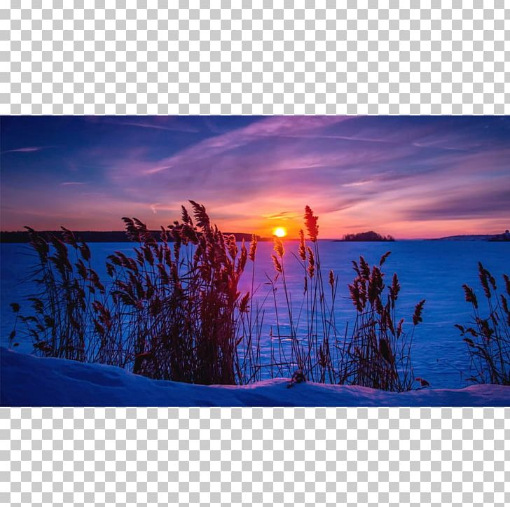 Sunset Desktop Winter Snow Sunrise PNG, Clipart, 5k.