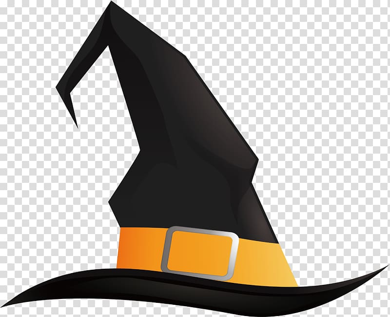 Witch hat Halloween Pointed hat, Black Wizard Hat.