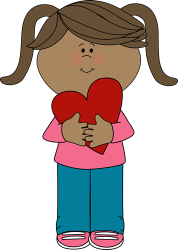 Girl In Love Clipart.