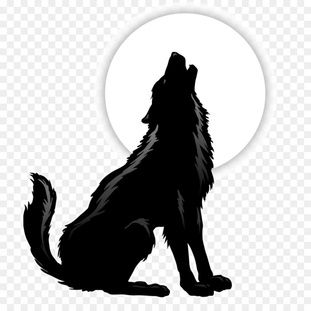 Vector Wolf Howling Clipart Coyote Clip Art Kaocak.