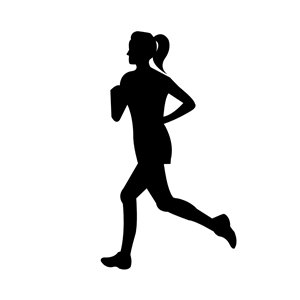 Woman Running clipart, cliparts of Woman Running free.
