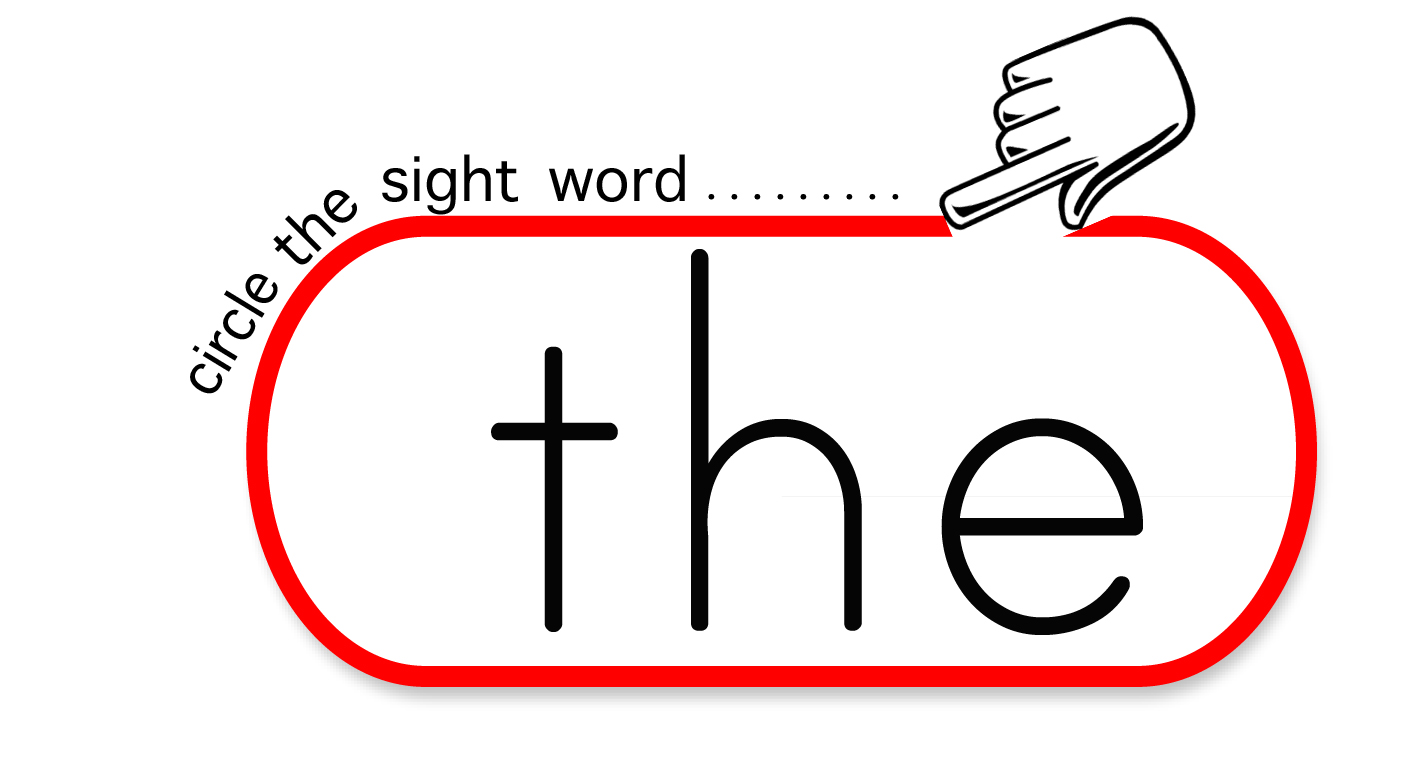 Sight Words Clipart.