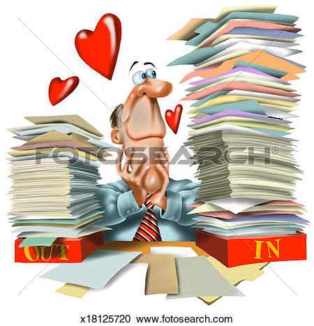 Workaholic Illustrations and Clipart. 230 workaholic royalty free.