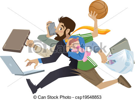 Workaholic Clipart and Stock Illustrations. 649 Workaholic vector.