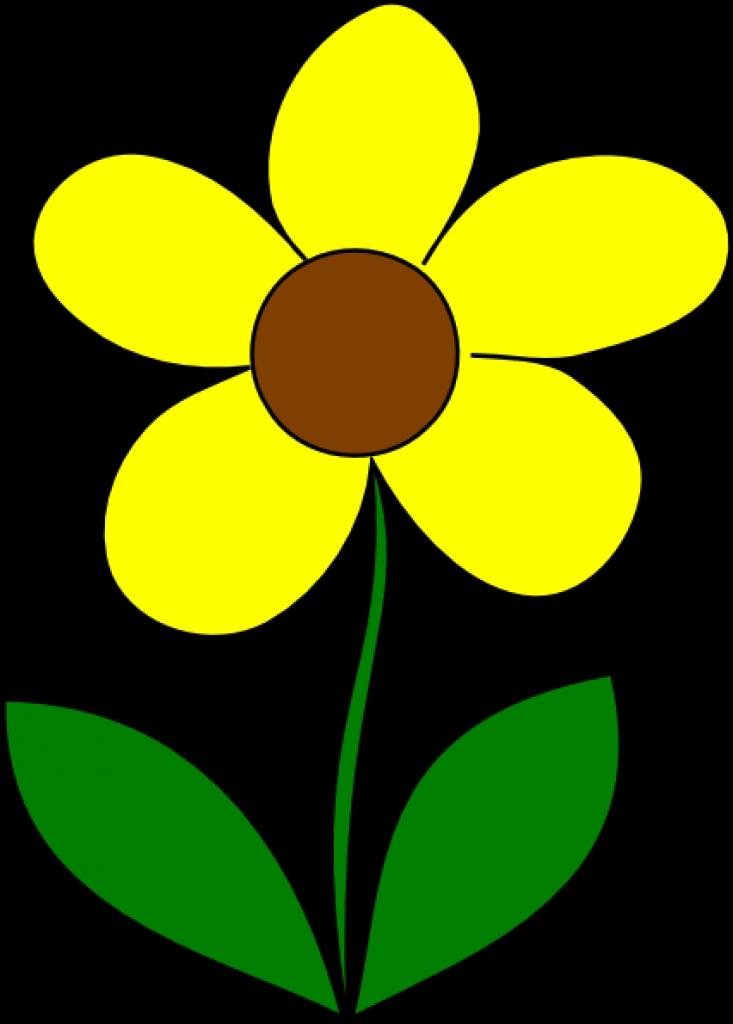 yellow flower clip art at clker vector clip art online.