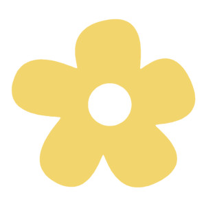 Big Yellow Flower Clip Art.