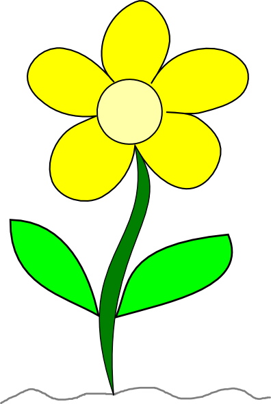 Flower Clip Art at Clker.com.