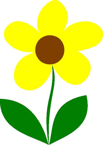 Flower Stem Clipart.