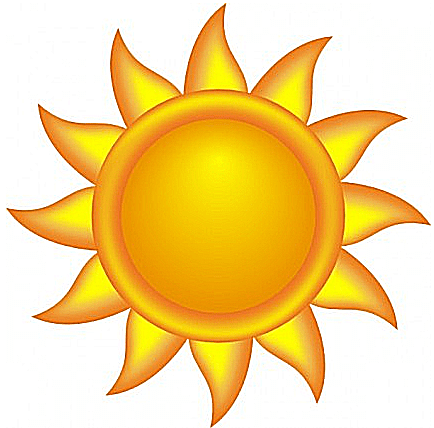 Brighten Your Day With Free Clip Art of the Sun.