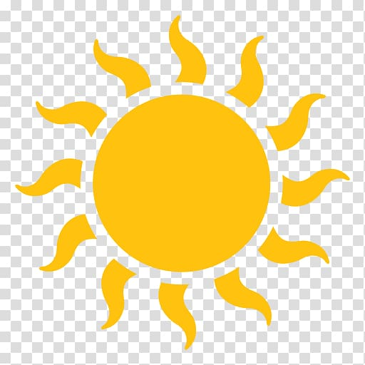 Yellow sun , , sun transparent background PNG clipart.