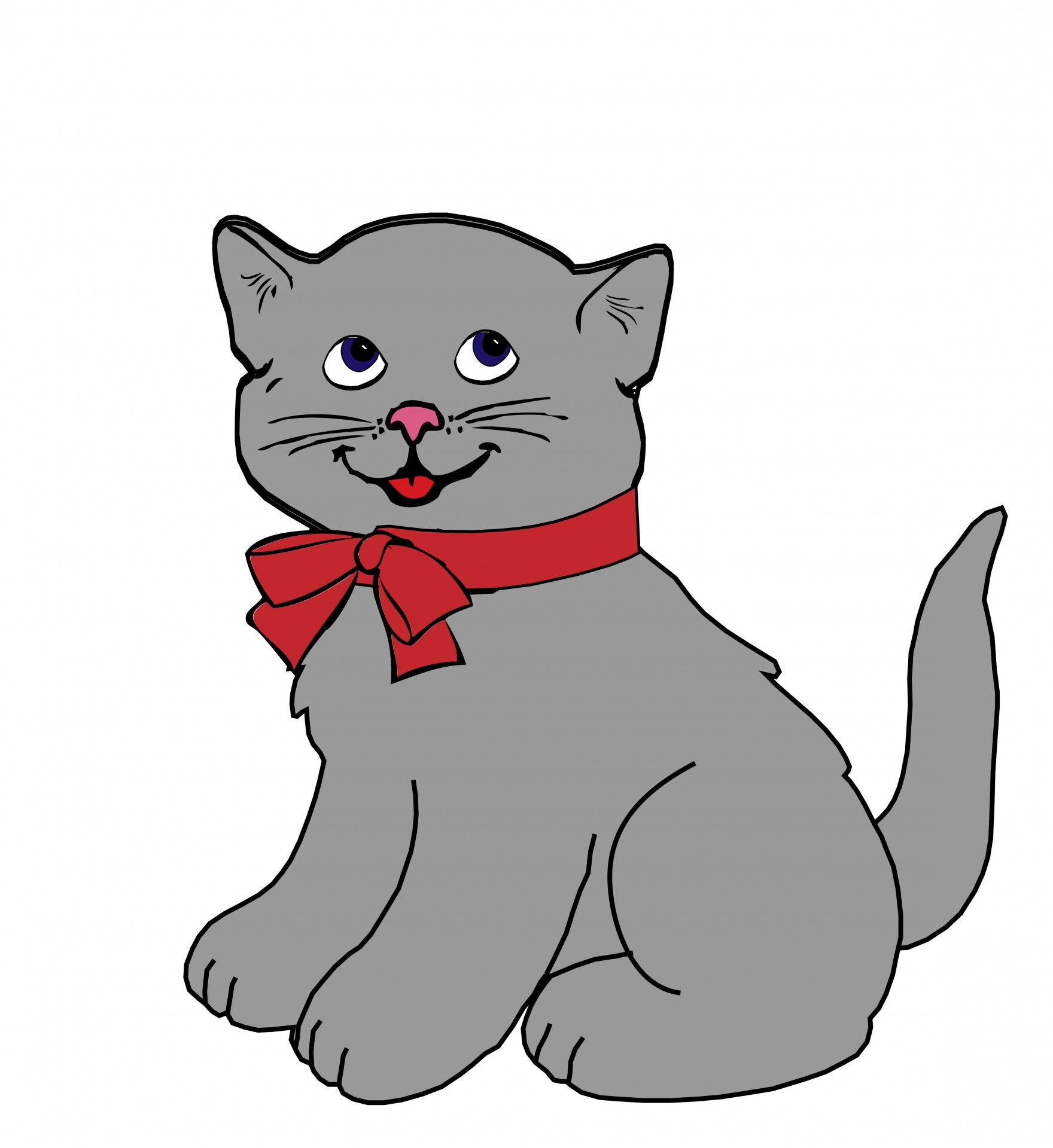 Grey Cat Clipart 20 Free Cliparts