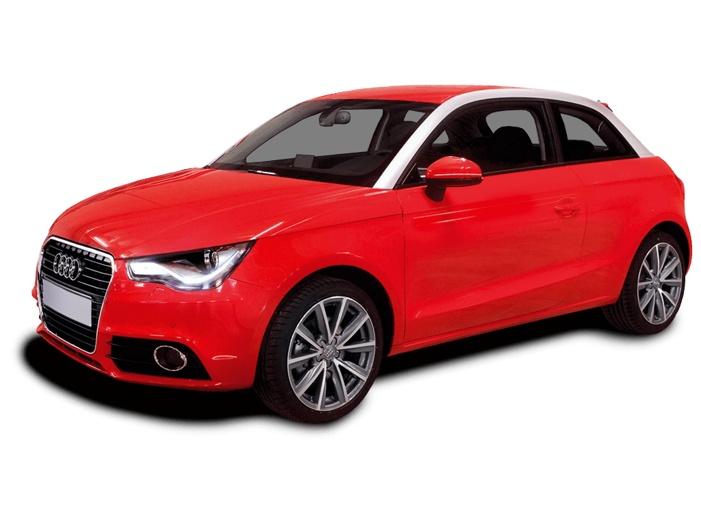 Audi A1 transparent PNG.