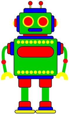 Robot clipart for your project or classroom. Free PNG files that.
