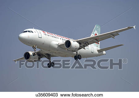 Stock Photo of Airbus A319 of Air Canada u35609403.