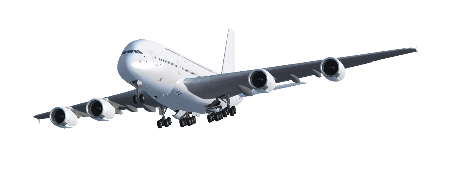 Airbus PNG Transparent Images.
