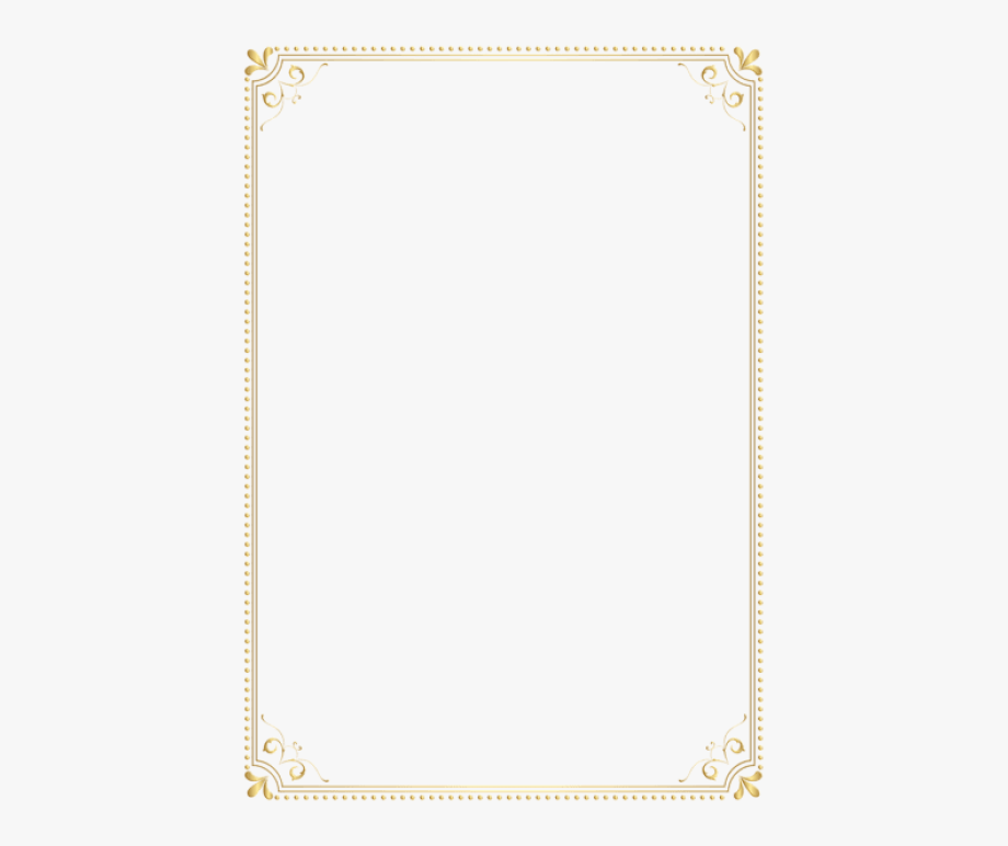 Download Gold Border Frame Clipart Png Photo.