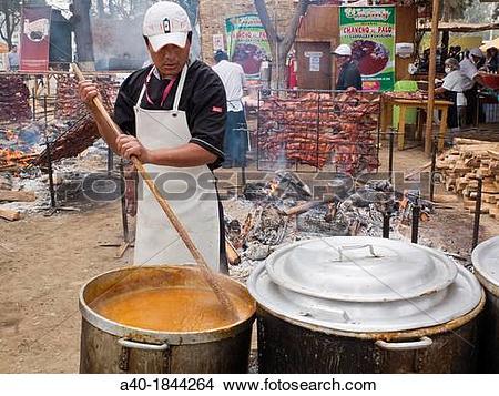 Stock Photo of Mistura food fair in Lima Peru a40.