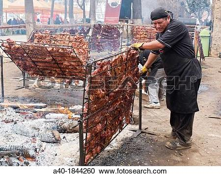 Stock Photography of Grilled meat, Grilled pork , a40.